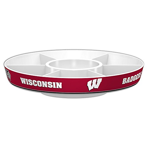 Ncaa Party Kit (Fremont Die NCAA Wisconsin Badgers Party Platter)