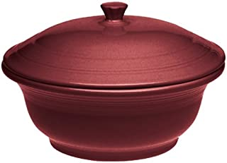 product image for Fiesta Cinnabar 495 70-Ounce Casserole with Lid