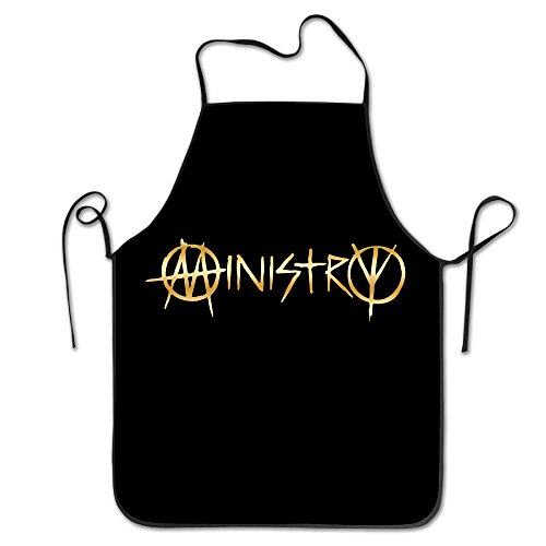 [Ministry Band Gold Logo Kitchen Grilling Apron] (Terrible Couple Halloween Costumes)