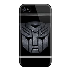 High-end Case Cover Protector For Iphone 4/4s(autobots Lockscreen)
