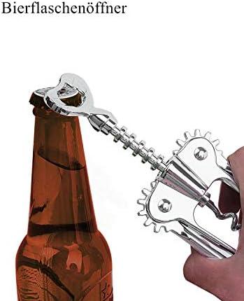 iheyfill Multifunción Sacacorchos para Botellas, Abrebotellas de Vino y Cerveza,corcho y abridor de botellas de cerveza
