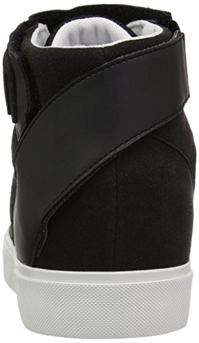 Strap Detail Top Mesh Ankle Sneaker Armani 9550337A047 Nero with Mens High and Exchange X A qwO4nBZxvY