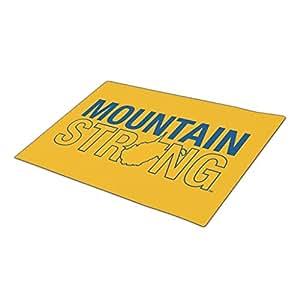 Bestgoon Indoor Door Mats Wv Logo Customized Door Mats Lets Go Mountaineers