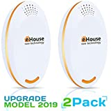 3. Ultrasonic Pest Repeller - (2 Pack) Electronic Plug in Best Repellent - Pest Control - Get Rid Of - Rodents Squirrels Mice Rats Insects - Roaches Spiders Fleas Bed Bugs Flies Ants Mosquitos Fruit Fly!