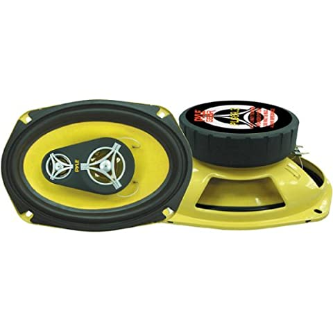 PYLE PLG69.3 6-Inch x 9-Inch 360 Watt Three-Way Speakers (Acura Tsx 2005 Grill)