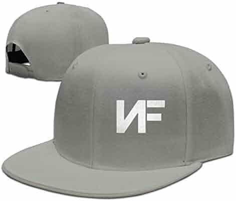 02411d2357d9e Adjustable NF Stylish Flat Baseball Cap Youth Snaback Hip Hop Hats for Men  Women