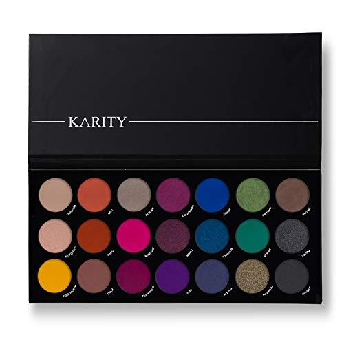 21 Highly Pigmented Professional Eyeshadow Palette Eye Shadow Makeup Kit Set Pro Palette High-end Formula (Smokey)