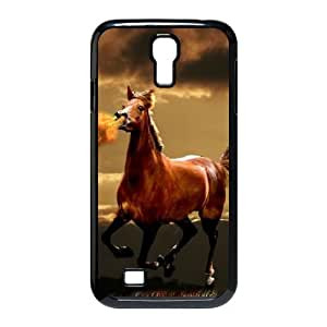 SamSung Galaxy S4 9500 phone cases Black Horse fashion cell phone cases UTRE3320285