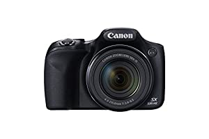 Canon PowerShot SX530 HS 16.0 MP CMOS Digital Camera with 50x Optical Image Stabilized Zoom (24-1200mm), Built-in WiFi, 3-Inch LCD and HD 1080p Video (Black) (Certified Refurbished)