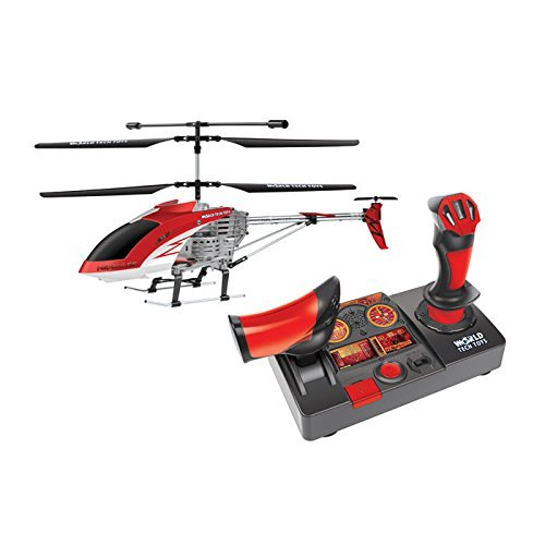 World Tech Toys 3.5 Channel Hercules Helipilot 2.4 GHz RC Unbreakable Gyro Helicopter with Joystick (World Tech Toys Gyro Hercules Unbreakable Rc Helicopter)