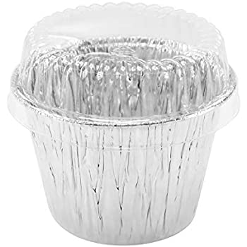 Amazon Com 48 Pcs Disposable Aluminum Foil Cups Baking