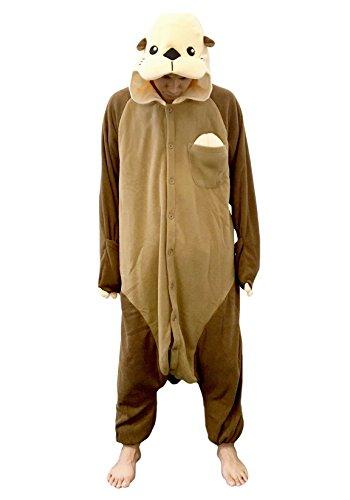 Sea Otter Kigurumi (Adults) (Otter Costume)