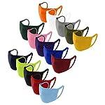 Staresen-15-Stcke-Einfarbig-Mundschutz-Set-Erwachsene-2-lagig-Baumwolle-Mund-Und-Nasenschutz-Waschbar-Dnner-Stoff-Bandana-Atmungsaktiv-Sport-Halstuch-Schal-Multifunktionstuch-fr-Damen-Herren