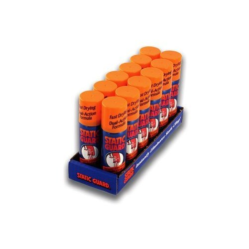 Static Guard Travel Size - 1.4 Oz Spray - 12 Pack Display Tray