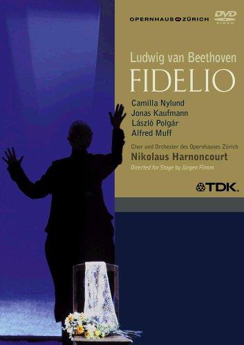 Beethoven - Fidelio / Nylund, Kaufmann, Polgar, Muff, Magnuson, Strehl, Groissbock, Harnoncourt, Zurich Opera by Alliance