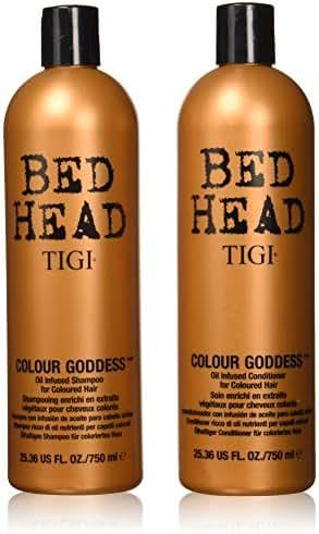 Shampoo & Conditioner: TIGI Bed Head Colour Goddess