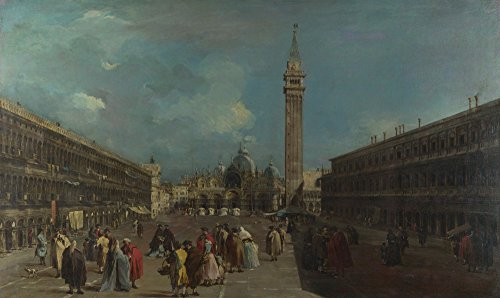 The Museum Outlet - Francesco Guardi - Venice - Piazza San Marco (1) - Canvas Print Online Buy (60 X 80 - San Outlet Marcos Shopping
