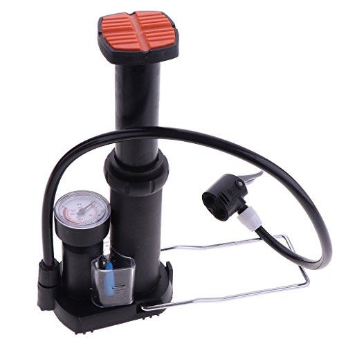 Fenteer ポータブル 自転車 フット 起動圧力計 ミニ 自転車空気ポンプ