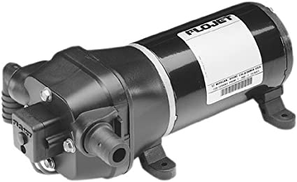 12VDC FloJet Quiet Quad Water System Pump 3.2GPM