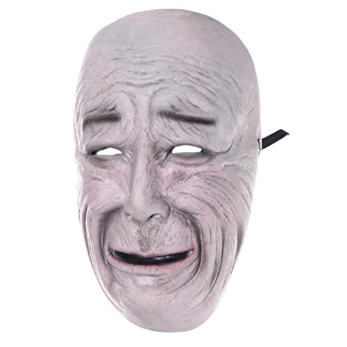 [AMA(TM) Halloween Party Cosplay Mask Pumpkin Scarecrow Terror Mask Head Mask (E)] (Out Of This World Alien Costume)