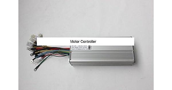 Amazon.com: 84 V 1500 W Hub driver de motor sin escobillas ...