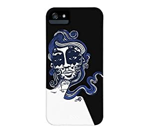 La Catrina by bug Case For Iphone 6 Plus (5.5 Inch) Cover Black Barely There Phone CaDesign By Humans