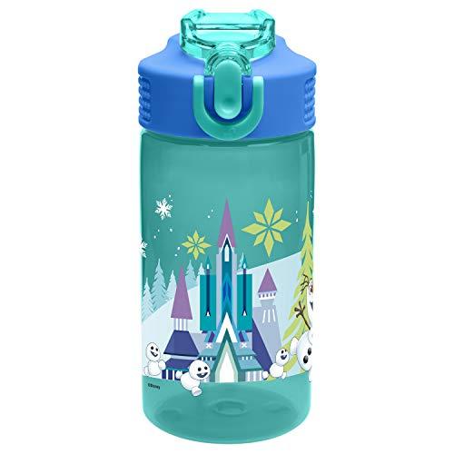 Zak Designs FZNU-T120-B 16 oz. Water Bottle with Straw, ()