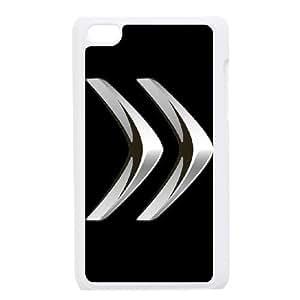 Citroen funda iPod Touch 4 caja funda del teléfono celular blanco cubierta de la caja funda EEECBCAAJ01606