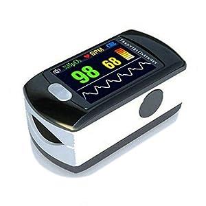 BLYL Monitor de Saturación de Oxígeno CMS-50E y Medición de la Frecuencia Cardíaca con Pantalla OLED a Todo Color para… 16