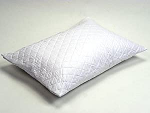 Amazon.com: Triple Cotton Quilted Pillow Protector Size: Queen ... : quilted pillow covers - Adamdwight.com