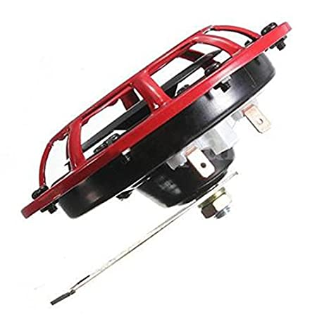 Rouge Paire REFURBISHHOUSE Grille de klaxon de Voiture Klaxon de Supertone 12V 139dB pour Subaru Impreza WRX Evo Neuf