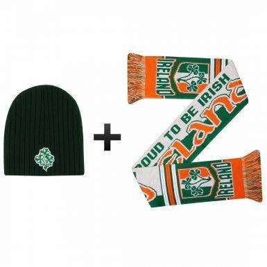 整理するより良いカテナアイルランド冬ウォーマー帽子&スカーフSet