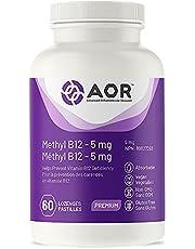 AOR - Methyl B12-5 mg, 60 Lozenges - Helps Prevent Vitamin B12 Deficiency