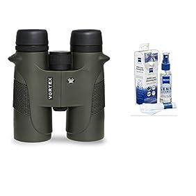 Vortex Optics New 2016 Diamondback 10x42 Roof Prism Binoculars with Free Zeiss Lens Cleaning Kit