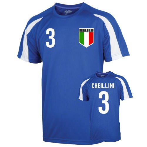 Italy Sports Training Jersey (chiellini 3) B01LACO7I2 XL (45-48