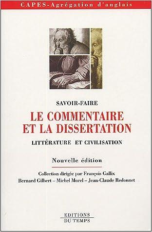 Dissertation science et litterature