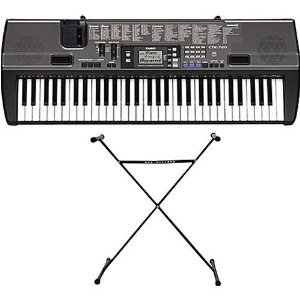 amazon com casio ctk 720 electronic keyboard with stand ac adaptor rh amazon com Casio Keyboard WK-3000 Casio Ctk 720 Keyboard Review