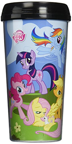 My Little Pony Friendship is Magic 16 oz. Plastic Travel Mug