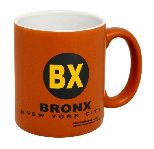 Bronx New York City Orange/White 11 oz Coffee Mug (Bronx Stores)