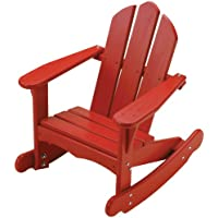 Little Colorado Childs Adirondack Rocking Chair- Red