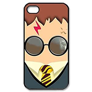 SUUER Custom Harry Potter Skin Personalized Custom Hard CASE for iPhone 4/4s 4s Durable Case Cover