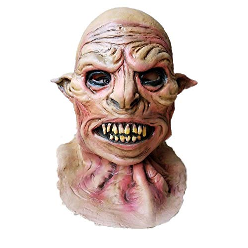 Funny Halloween Party Terror Devil Realistic Silicone Masks Carnaval Easter Scary Zombie Latex Mask Wolf Demon Mask]()