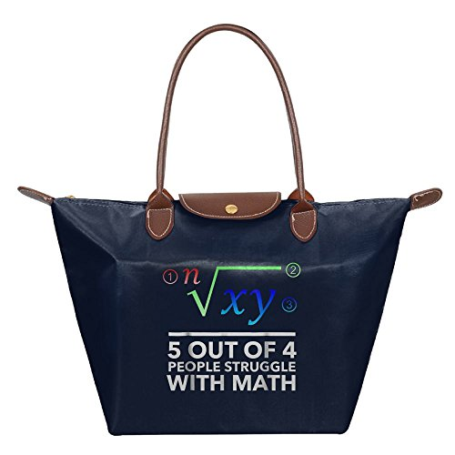 Adwelirhfwer Unisex 5 Out Of 4 People Struggle With Math Picnic Package Navy by Adwelirhfwer