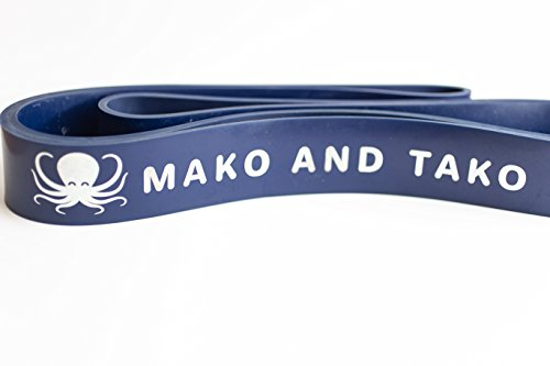 Cheap Resistance Band by Mako and Tako | Powerlifting | Mobility | Stretching | Crossfit | Assisted Pull-ups | 50-125 lbs