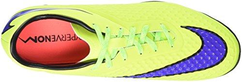 NIKE Hypervenom Phelon Tf Kunstrasen Herren Multinocken-Fußballschuhe, Scarpe da Calcio Uomo, Multicolore (Volt-Persian Violett-Hot Lava-Schwarz), 42.5 EU
