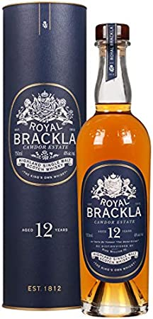 Royal Brackla 12 años Whisky Escocés de Malta - 700 ml
