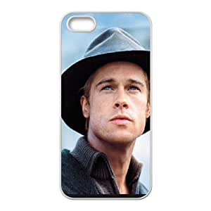 Brad Pitt iPhone 4 4s Cell Phone Case White Phone cover T7421004