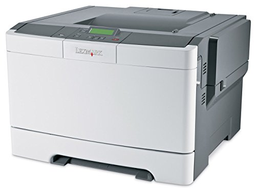 - Lexmark CS410n Compact Color Laser Printer, Network Ready and Professional Features