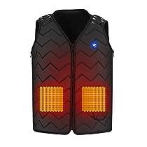 DOROU 2020最新電熱ベスト 加熱ベスト 電熱ジャケット サイズ...