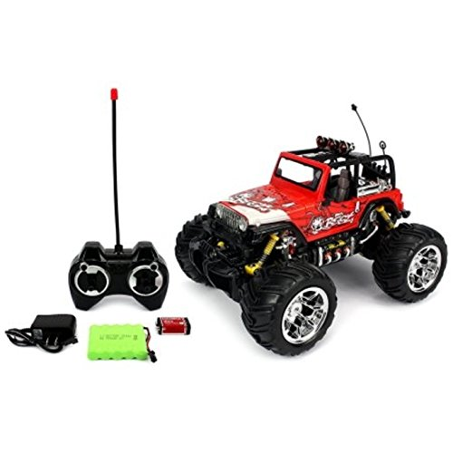 Off Road Battery Operated Remote Control Velocity Toys Monster Truck